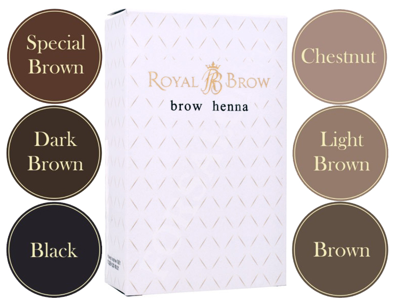 ByFashion.ru - Хна для бровей Royal Brow Henna