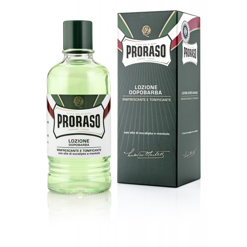 ByFashion.ru - Лосьон после бритья Proraso Green Aftershave Lotion с ментолом и эвкалиптом, 400 мл