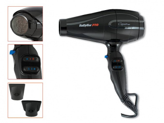 ByFashion.ru - Фен BaByliss PRO BAB6510IRE Caruso, 2400W